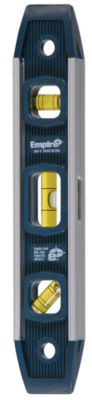 Empire 581-9 9IN Magnetic Aluminum Torpedo Level