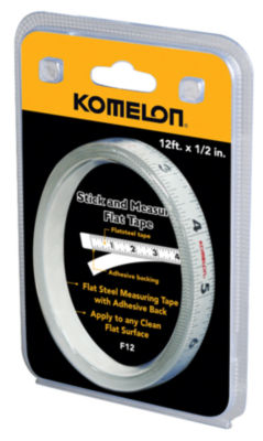 Komelon Usa F12 1/2IN X 12' Flat Tape Rule