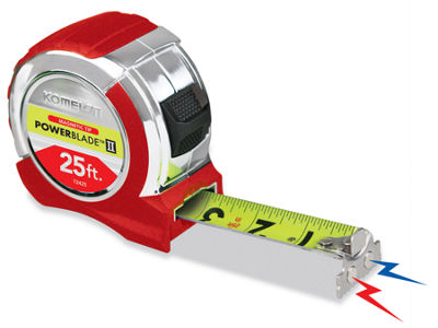 "Komelon Usa 72425 1.06"" X 25' Magnetic PowerbladeIi Tape Rule"""
