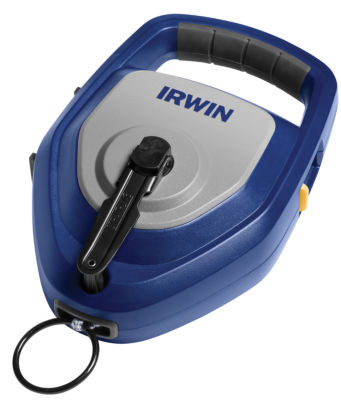 Irwin 1932879 150' Steel Handled Strait-Line¨ Layoutproª Xl Chalk Reel