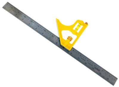 "Stanley Hand Tools 46-131 16"" Contractor Grade Combination Square"""