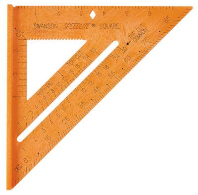 Swanson T0118 Orange 5 In 1 Original Speed Square