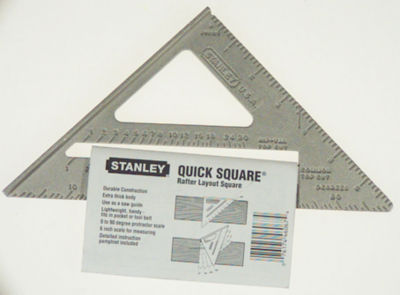 Stanley Hand Tools 46-067 Quick Square Layout Tool