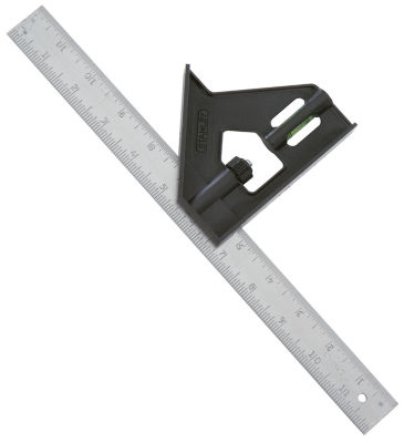Stanley Hand Tools 46-012 12IN Professional Combination Square