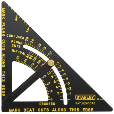 Stanley Hand Tools 46-053 Contractor Grade Quick Square