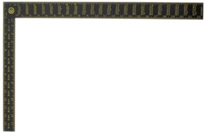 Stanley Hand Tools 45-011 24IN Premium Aluminum Rafter Square
