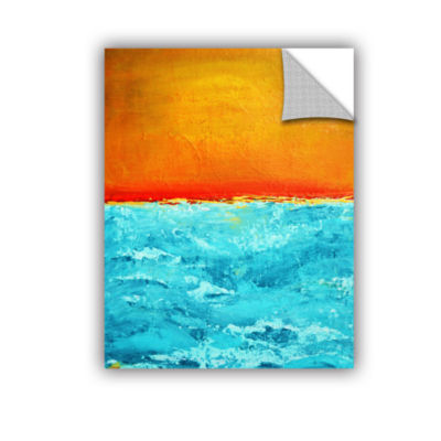 Brushstone Sunset 3 Removable Wall Decal