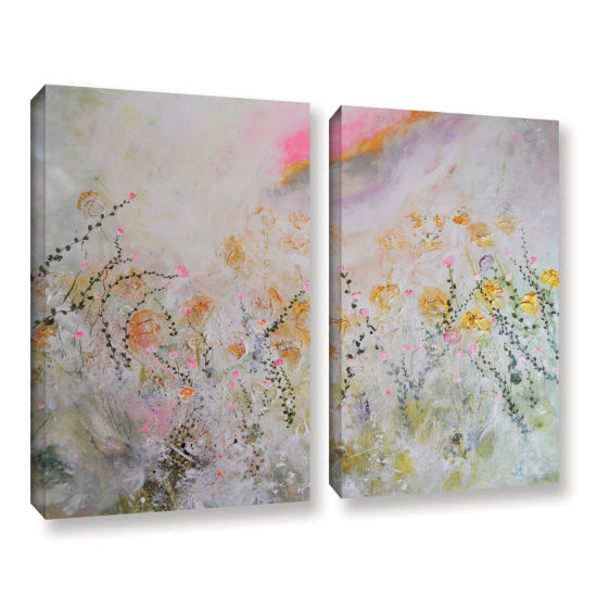Brushstone Secret Garden 2-pc. Gallery Wrapped Canvas Wall Art