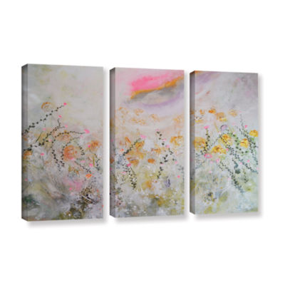 Brushstone Secret Garden 3-pc. Gallery Wrapped Canvas Wall Art