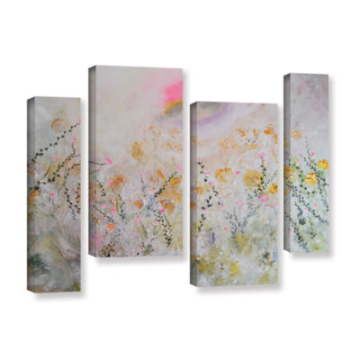 Brushstone Secret Garden 4-pc. Gallery Wrapped Staggered Canvas Wall Art