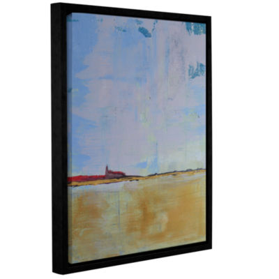 Brushstone Serenity 2 Gallery Wrapped Floater-Framed Canvas Wall Art