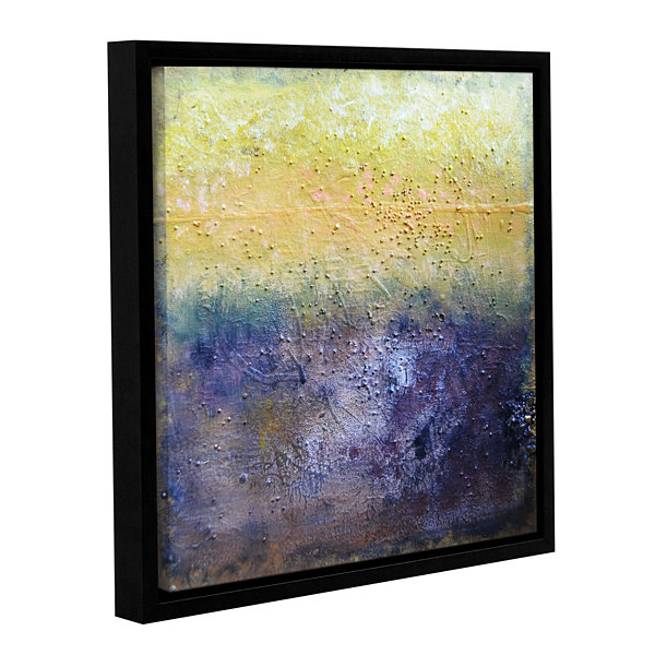 Brushstone Under The Sun Gallery Wrapped Floater-Framed Canvas Wall Art