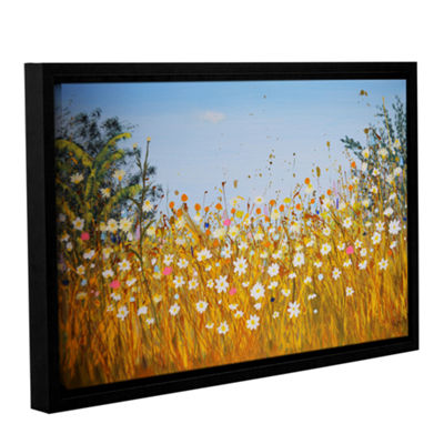 Brushstone Summer Breeze Gallery Wrapped Floater-Framed Canvas Wall Art