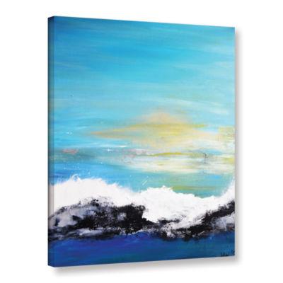 Brushstone Sunrise Awakening Gallery Wrapped Canvas Wall Art