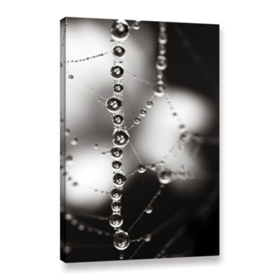 Brushstone Bejeweled Gallery Wrapped Canvas Wall Art
