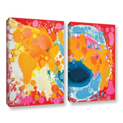 Brushstone Brave 2-pc. Gallery Wrapped Canvas WallArt