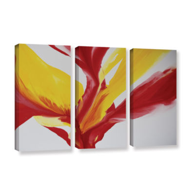 Brushstone Brimming II 3-pc. Gallery Wrapped Canvas Wall Art