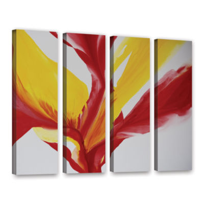 Brushstone Brimming II 4-pc. Gallery Wrapped Canvas Wall Art