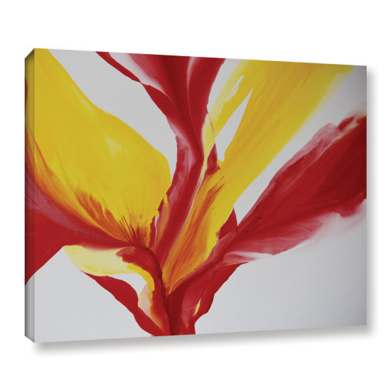 Brushstone Brimming II Gallery Wrapped Canvas WallArt