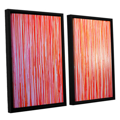 Brushstone Date Night 2-pc. Floater Framed CanvasWall Art