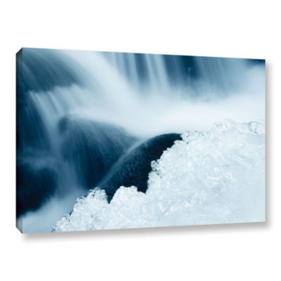 Brushstone Elegant Shapes Of Water Gallery WrappedCanvas Wall Art