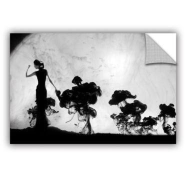 Brushstone Silhuette In Moonlight Removable Wall Decal