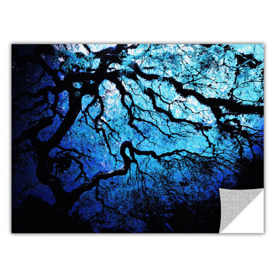 Brushstone Ice Blue Eve-Japanese Tree Removable Wall Decal