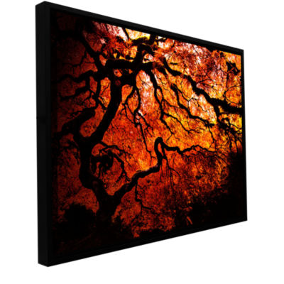 Brushstone Japanese Tree Gallery Wrapped Floater-Framed Canvas Wall Art