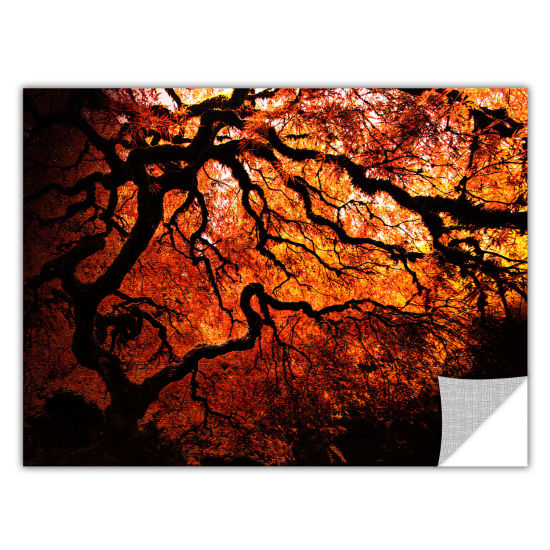 Brushstone Japanese Tree Removable Wall Decal