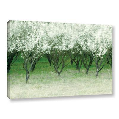 Brushstone Spring Wind Gallery Wrapped Canvas WallArt