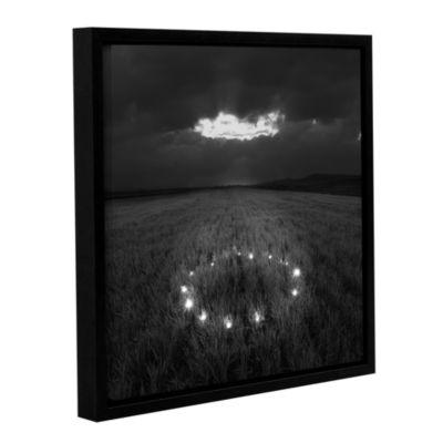 Brushstone Stars That Have Fallen Gallery WrappedFloater-Framed Canvas Wall Art