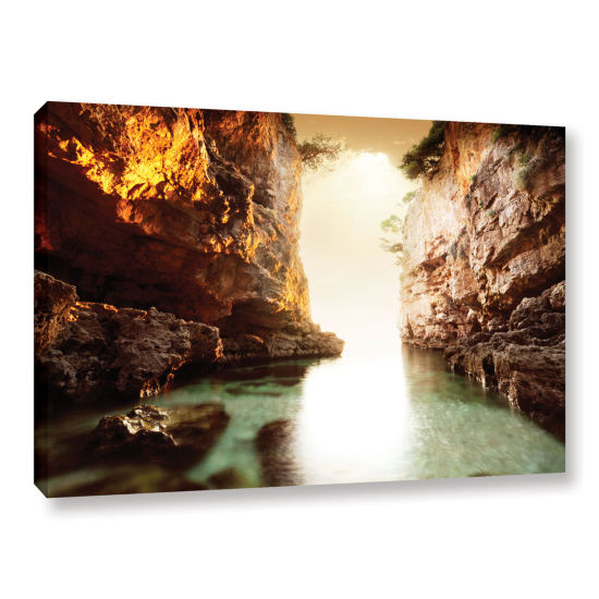 Brushstone The Gate Gallery Wrapped Canvas Wall Art