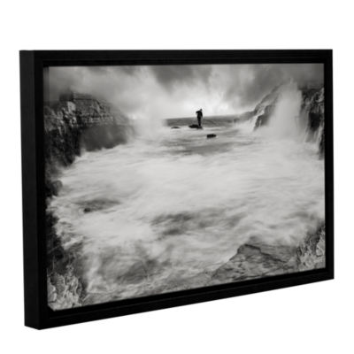 Brushstone Life Like A Rorschach Test 2 Gallery Wrapped Floater-Framed Canvas Wall Art