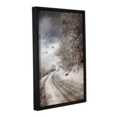 Brushstone The Road To Cozia Gallery Wrapped Floater-Framed Canvas Wall Art