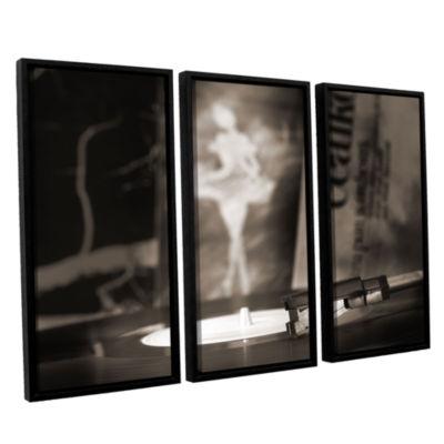 Brushstone The White Swan 3-pc. Floater Framed Canvas Wall Art