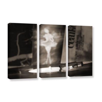 Brushstone The White Swan 3-pc. Gallery Wrapped Canvas Wall Art