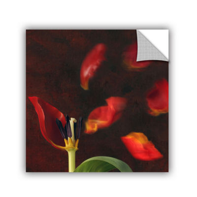 Brushstone Tulip And Windy Mood Removable Wall Decal
