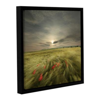 Brushstone Sweet Breath Of Summer Gallery WrappedFloater-Framed Canvas Wall Art