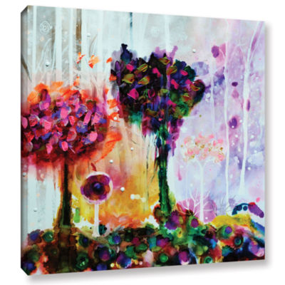 Brushstone Dreamy Forest Gallery Wrapped Canvas Wall Art