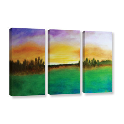 Brushstone Sunshine Love 3-pc. Gallery Wrapped Canvas Wall Art