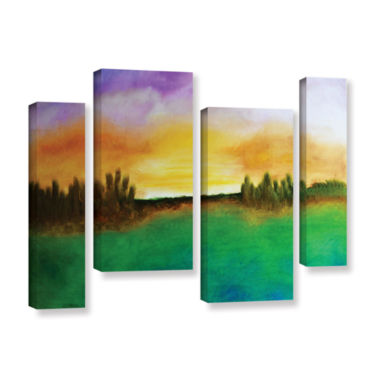 Brushstone Sunshine Love 4-pc. Gallery Wrapped Staggered Canvas Wall Art