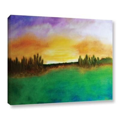 Brushstone Sunshine Love Gallery Wrapped Canvas Wall Art