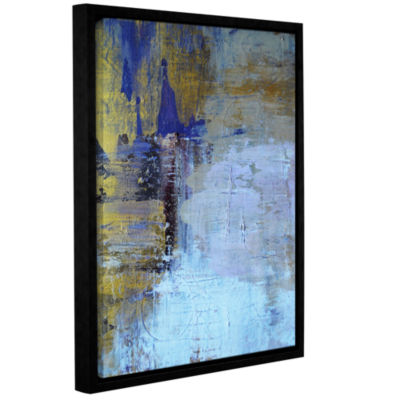 Brushstone Hold On! Gallery Wrapped Floater-FramedCanvas Wall Art