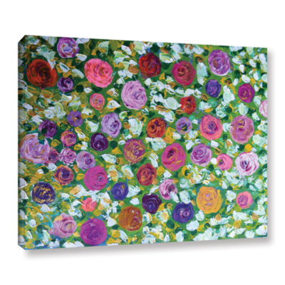 Brushstone Sweet Roses Gallery Wrapped Canvas WallArt