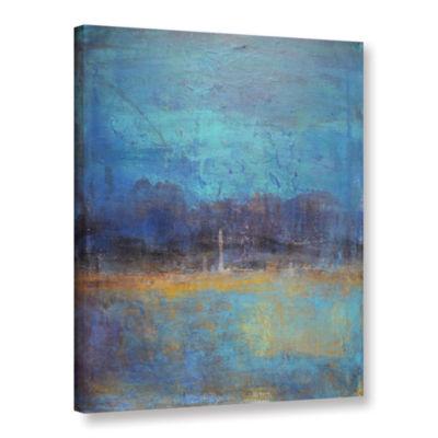 Brushstone Night Away Gallery Wrapped Canvas WallArt
