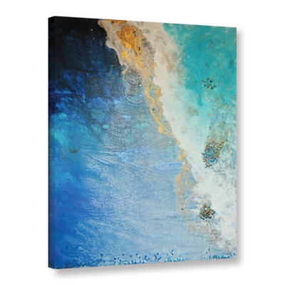 Brushstone Lost In Blue Gallery Wrapped Canvas Wall Art