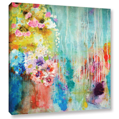 Brushstone Love Is All Around Gallery Wrapped Canvas Wall Art