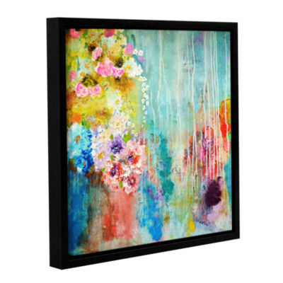 Brushstone Love Is All Around Gallery Wrapped Floater-Framed Canvas Wall Art
