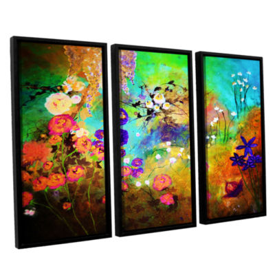 Brushstone The Beauty Of Silence 3-pc. Floater Framed Canvas Wall Art