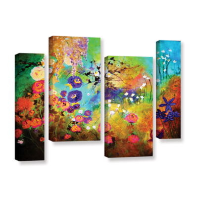 Brushstone The Beauty Of Silence 4-pc. Gallery Wrapped Staggered Canvas Wall Art